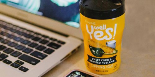 Campbell's Well Yes! Sipping Soup 8-Pack Only $9 Shipped at Amazon ($1.15 Each)