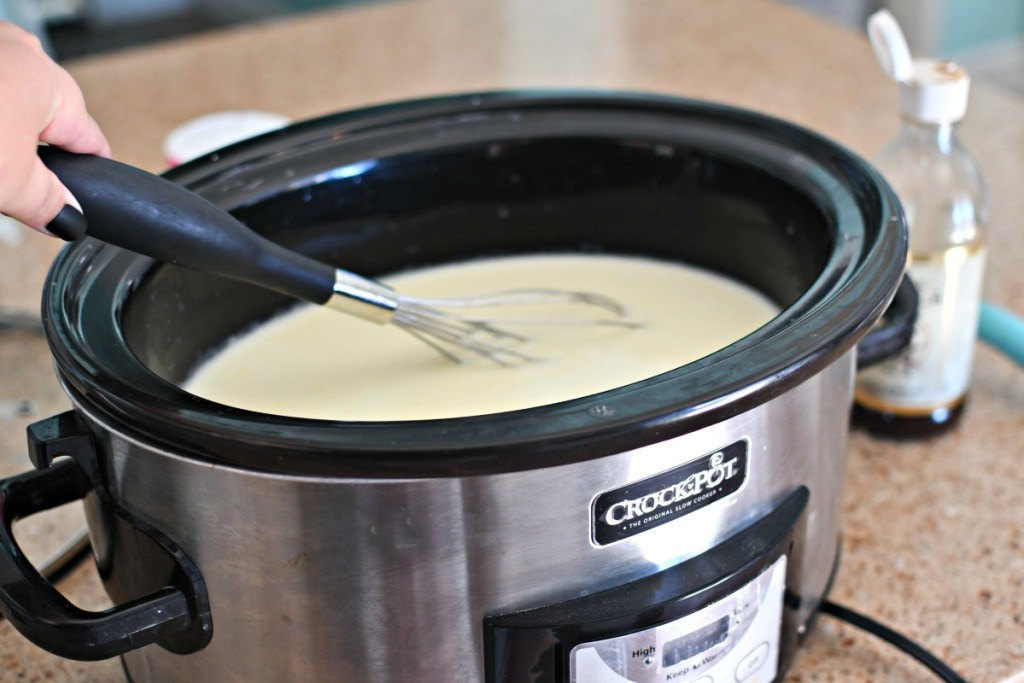 whisking hot chocolate