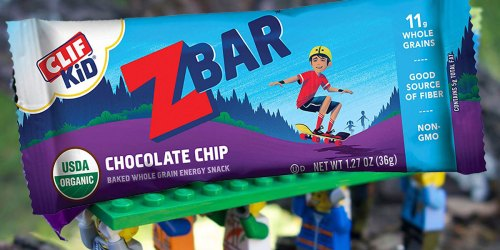 CLIF Kid Organic ZBars 18-Count Only $7.83 Shipped at Amazon | Just 44¢ Per Bar