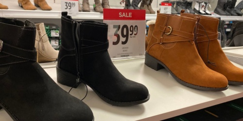 Buy 1 Pair of Boots, Get 2 Pairs FREE at JCPenney