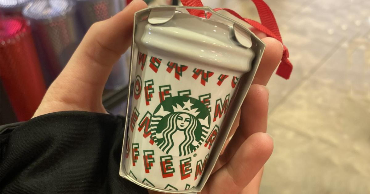 Starbucks Holiday Ornaments