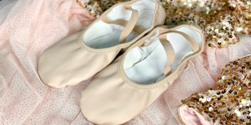 Leather Ballet Shoes Only $7.79 at Amazon | 5 Color Choices