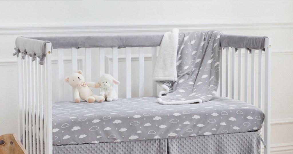 American Baby Company - Reversible Crib Rail Cover