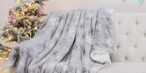 Bedsure Sherpa Fleece Christmas Blankets as Low as $13.79 on Amazon
