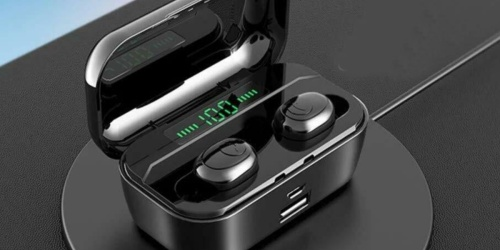 Bluetooth Wireless Earbuds Only $19.85 Shipped
