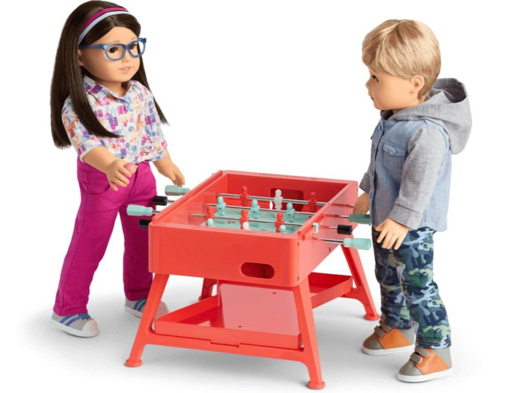 American Girl Game Night Table