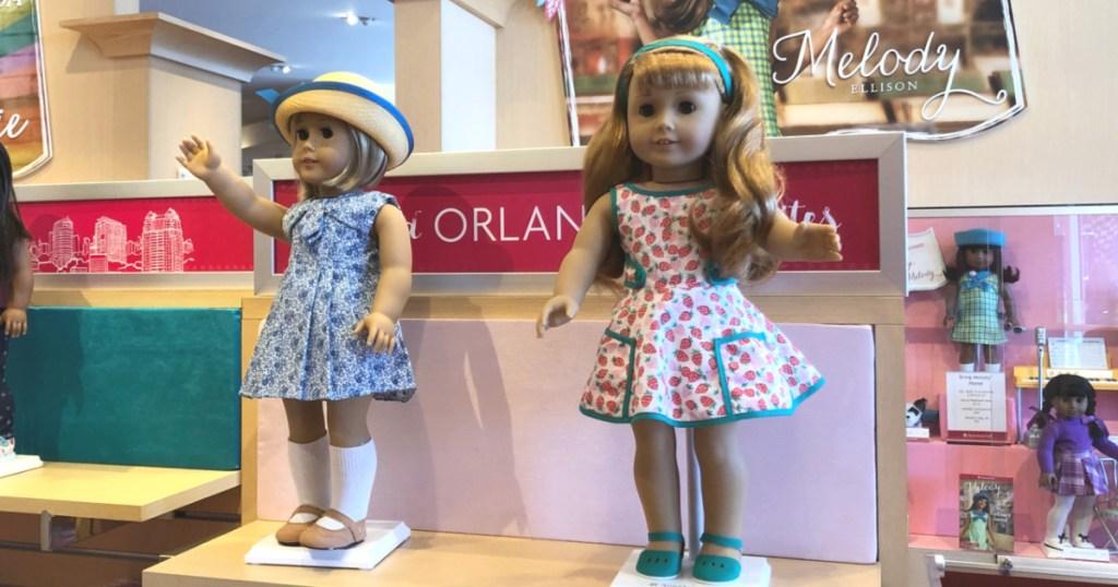 American Girl Doll Display