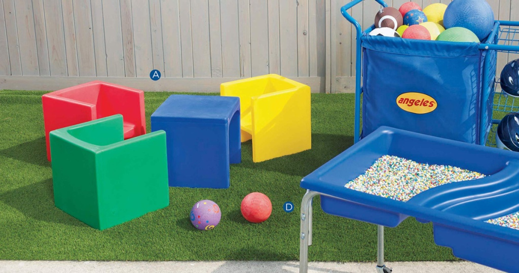 Children's Factory Cube Chairs Amazon