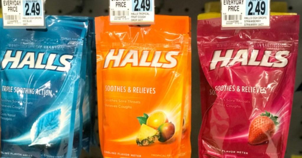 Halls Cough Drops Rite Aid