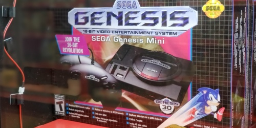 Sega Genesis Mini Console Only $39.99 Shipped (Regularly $80) | Includes 42 Games