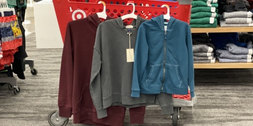 Sweatshirts & Hoodies for the Family Just $9 Each Shipped at Target (Regularly up to $25)