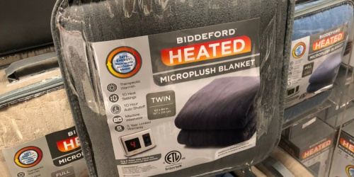Biddeford Heated Microplush Blankets as Low as $22.94 (Regularly up to $200) + Free Shipping for Kohl's Cardholders
