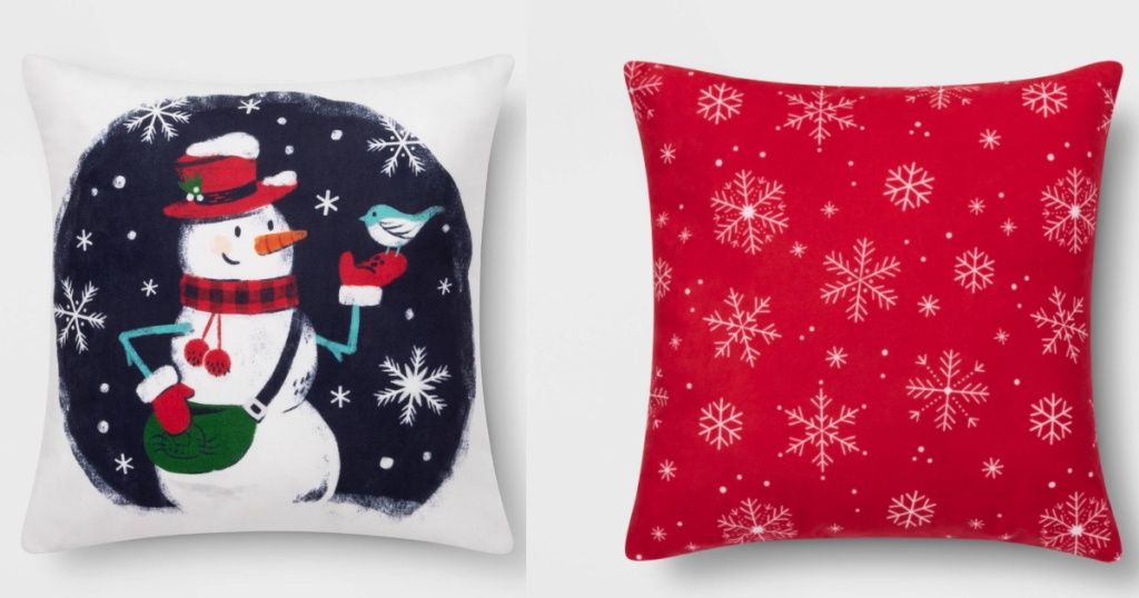 Wonder Holiday Throw Pillows Only 6 Shipped At Target