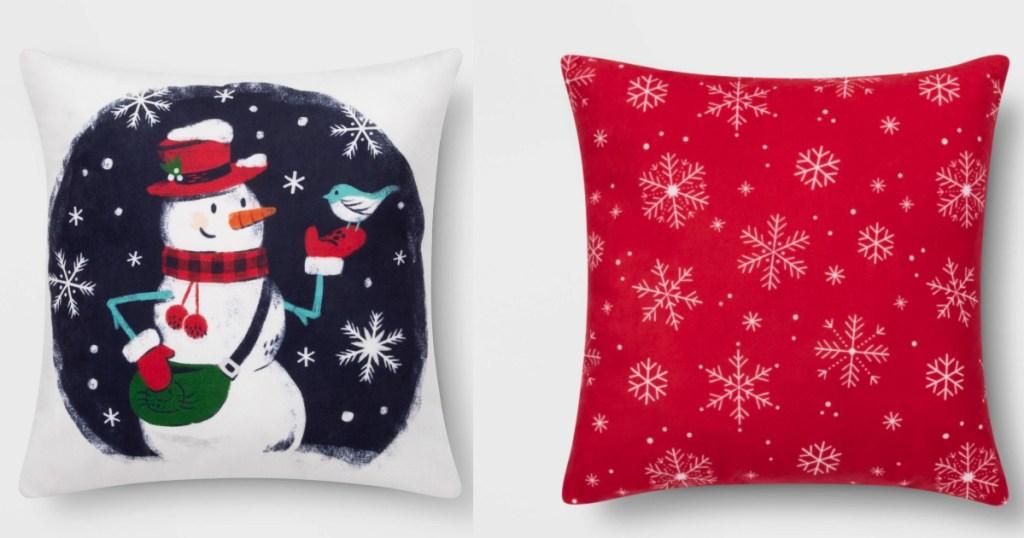 Wonderhop Holiday Pillows at Target