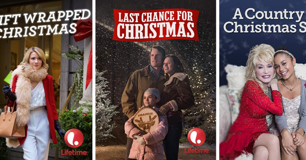 Lifetime Channel Christmas Movies at Amazon