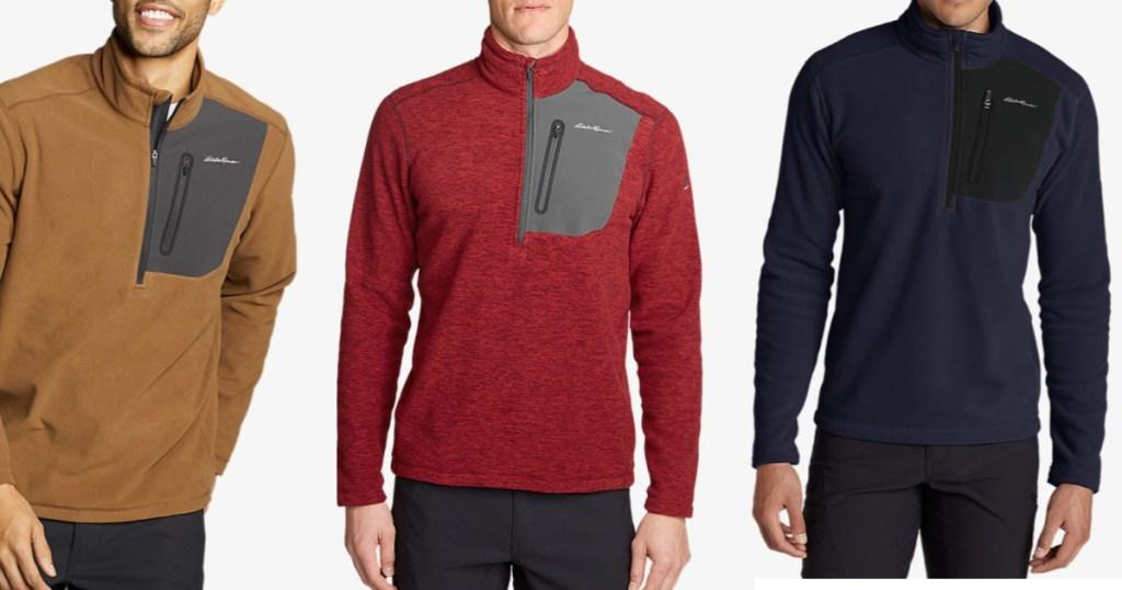 Eddie Bauer Men's 1/2 Zip Pullover