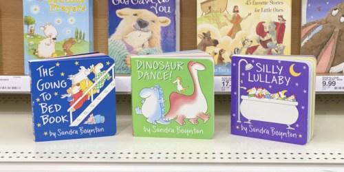 25% Off Children's Board Books at Target | Sandra Boynton, Dr. Seuss & More