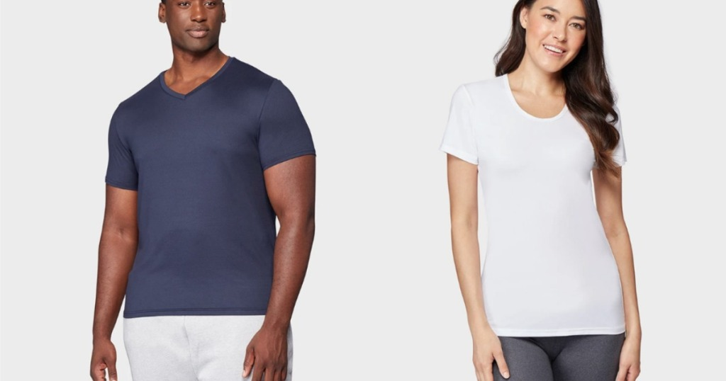 32 Degrees Mens and women's tees
