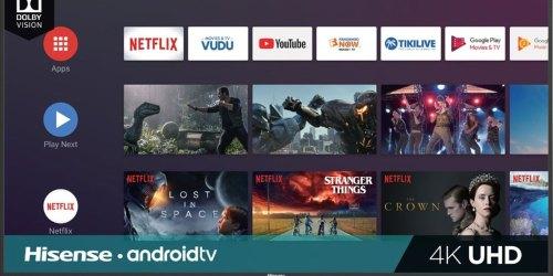 Hisense 43-Inch LED Smart 4K UHD TV Only $189.99 Shipped at Best Buy