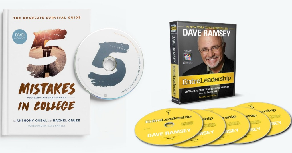 5 Mistakes Book and Dave Ramsey CDs