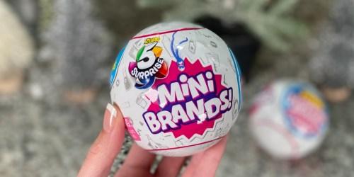 Zuru 5 Mini Brands! Surprise Ball Only $3.98 (Regularly $9.95) | Great Stocking Stuffer
