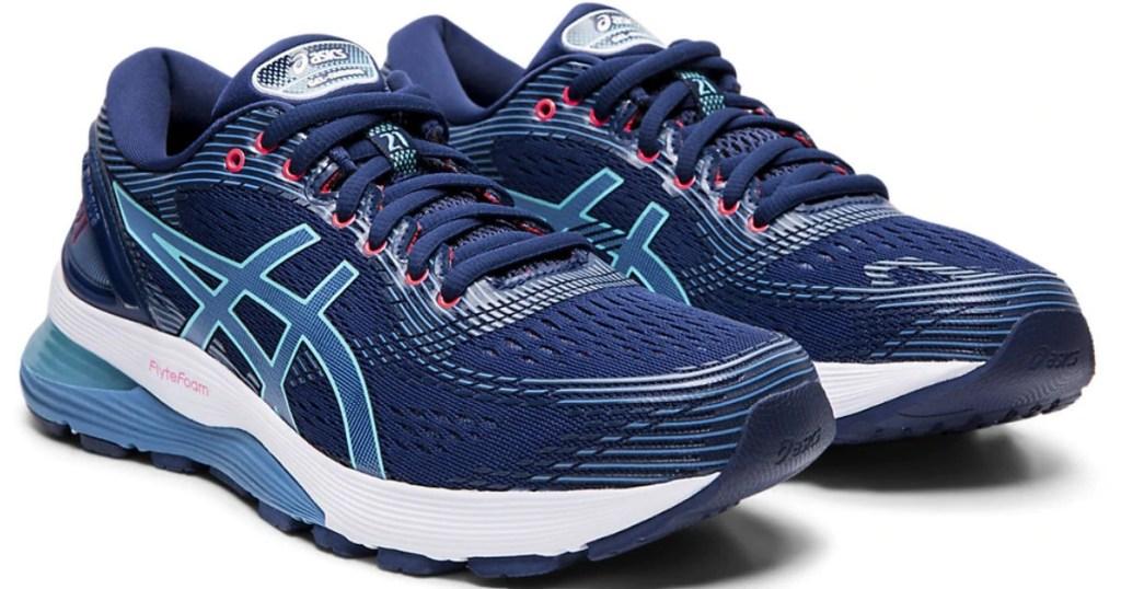 women's blue running shoes