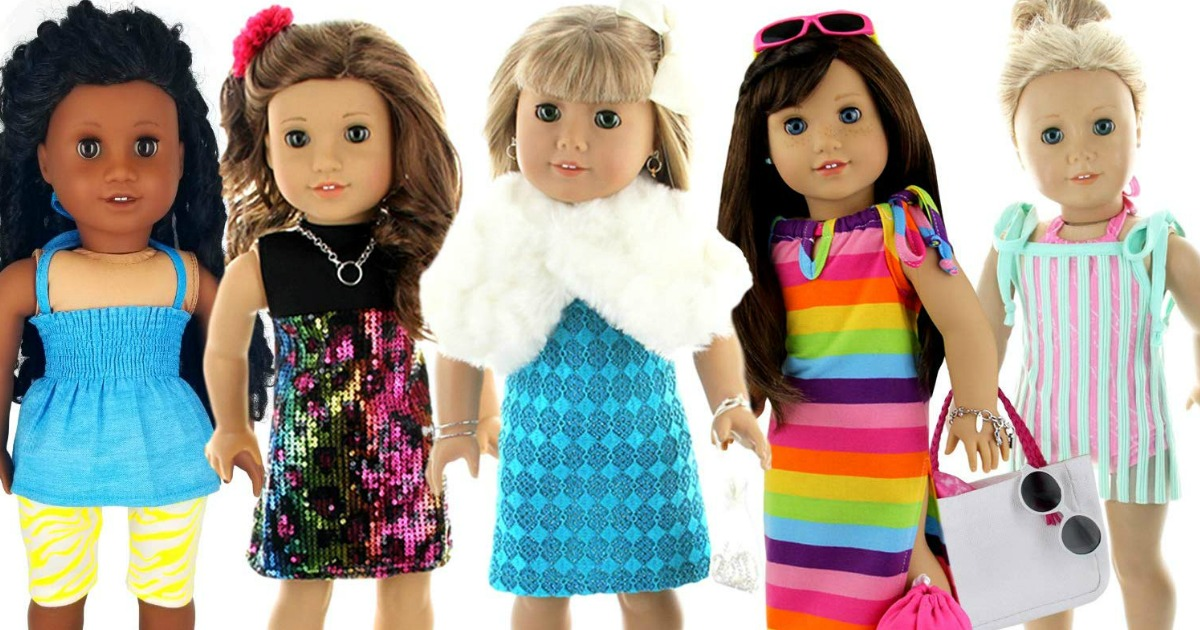 Amazon Doll Outfits Set