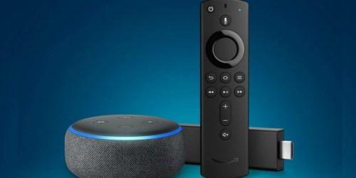 Fire TV Stick 4K w/ Alexa Voice Remote & Echo Dot Only $46.99 Shipped at Amazon (Regularly $100)