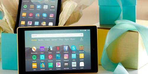TWO Amazon Fire HD 8″ 16GB Tablets + Cases as Low as $79.99 Shipped (Regularly $200)