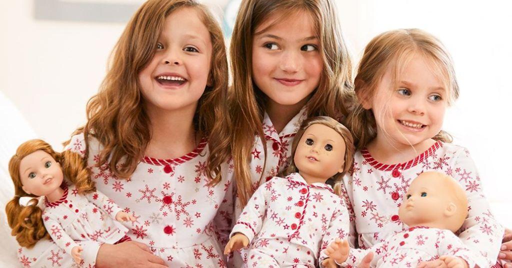 American Girl Matching Pajama Sets