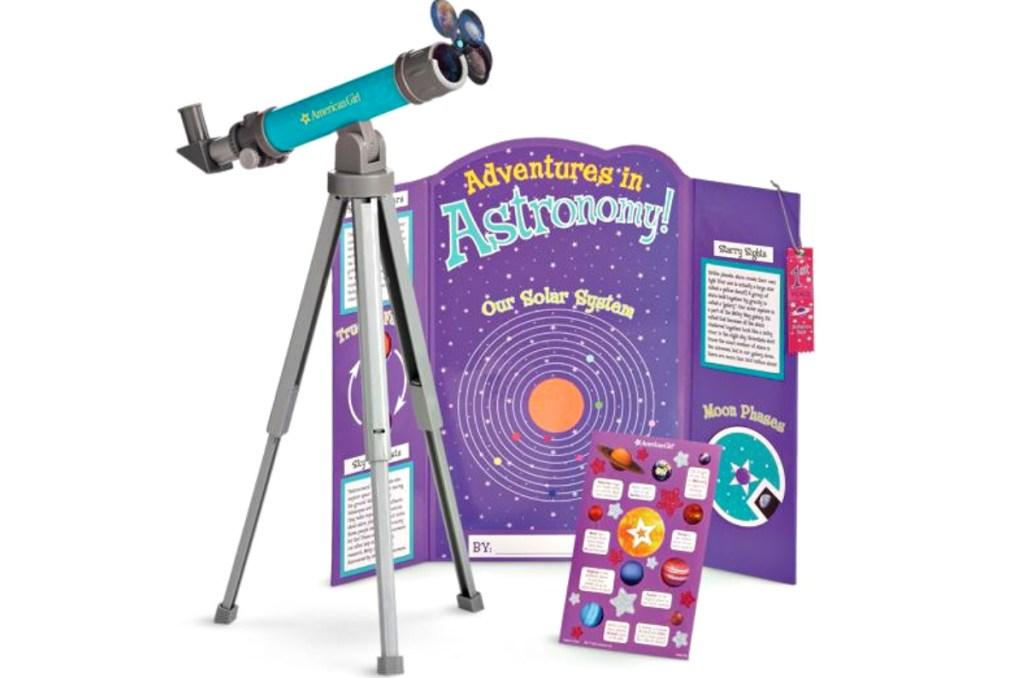 American Girl Science Fair Set