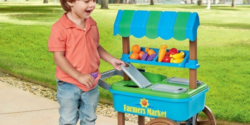 My Very Own Farmers Market Cart Only $12.98 at Walmart.com | 20 Accessories Included
