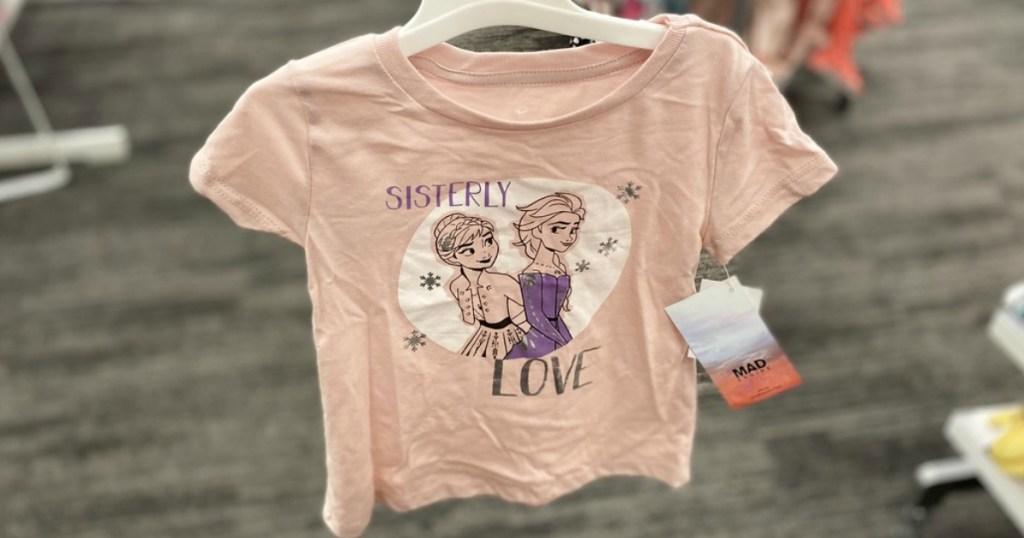 Anna and Elsa Shirt