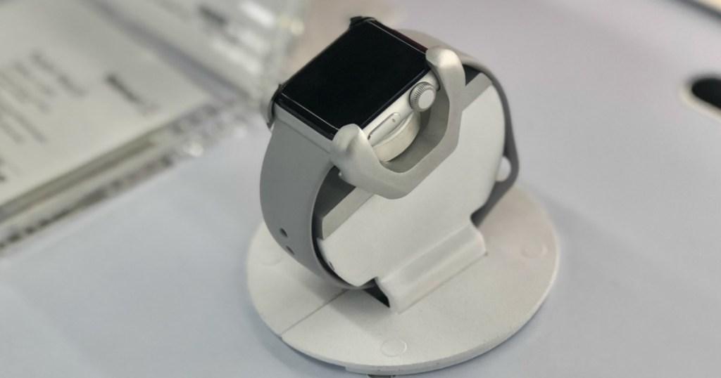 Apple Watch Series 3 on display in-store