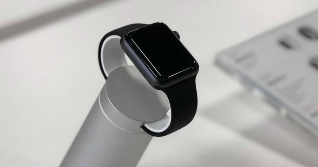 Apple Watch series 4 on display