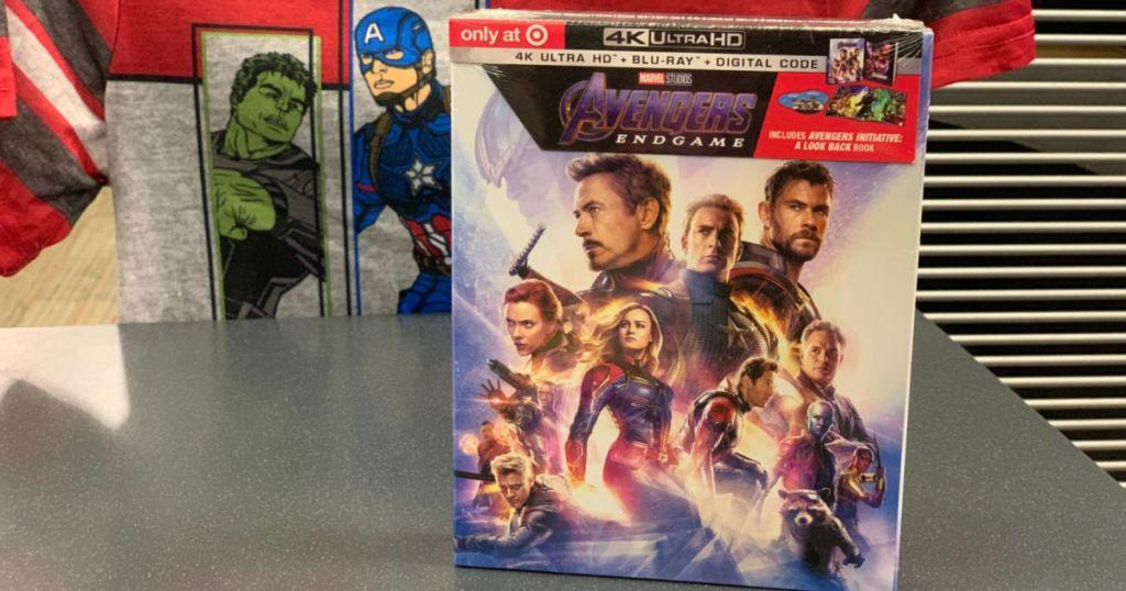 Avengers Endgame 4K UHD+Blu-Ray+Digital Target Exclusive