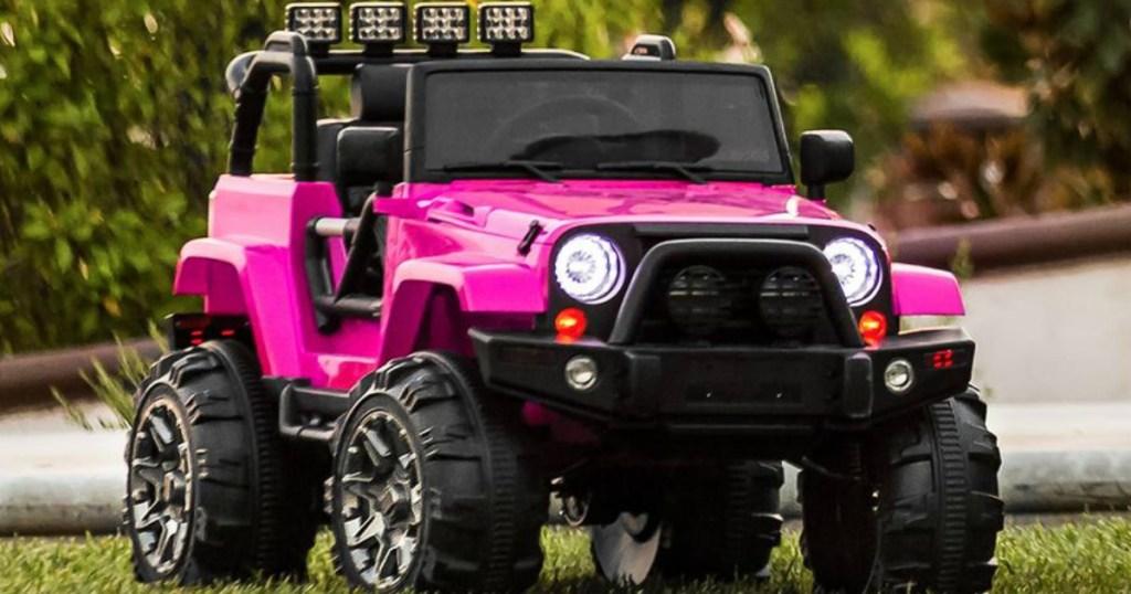 BCP Kids Pink Truck