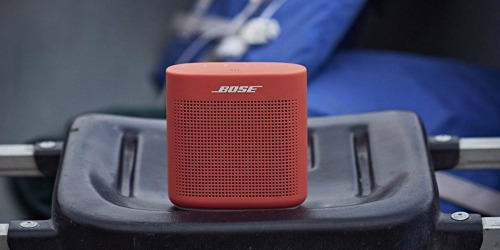Bose SoundLink Water-Resistant Bluetooth Speaker Only $89.99 Shipped (Regularly $130)