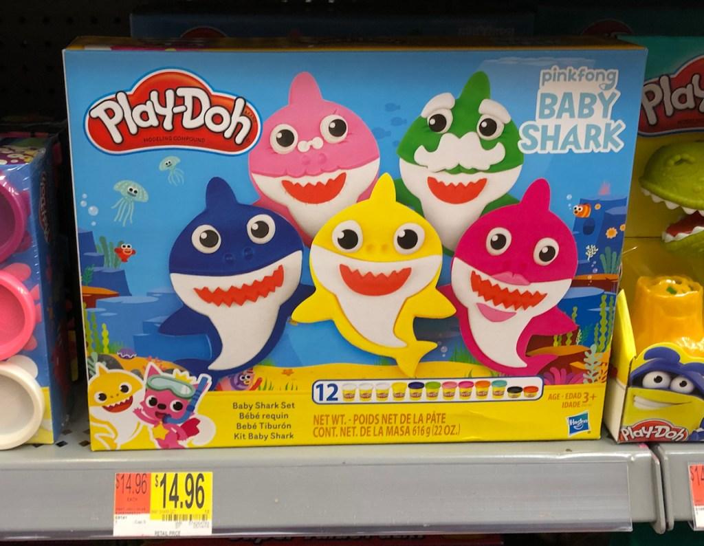 Baby Shark Play-Doh set at Walmart