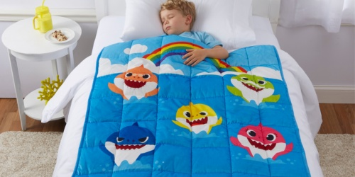 Baby Shark Kids Weighted Blanket Only $39.96 Shipped at Walmart (Regularly $50)