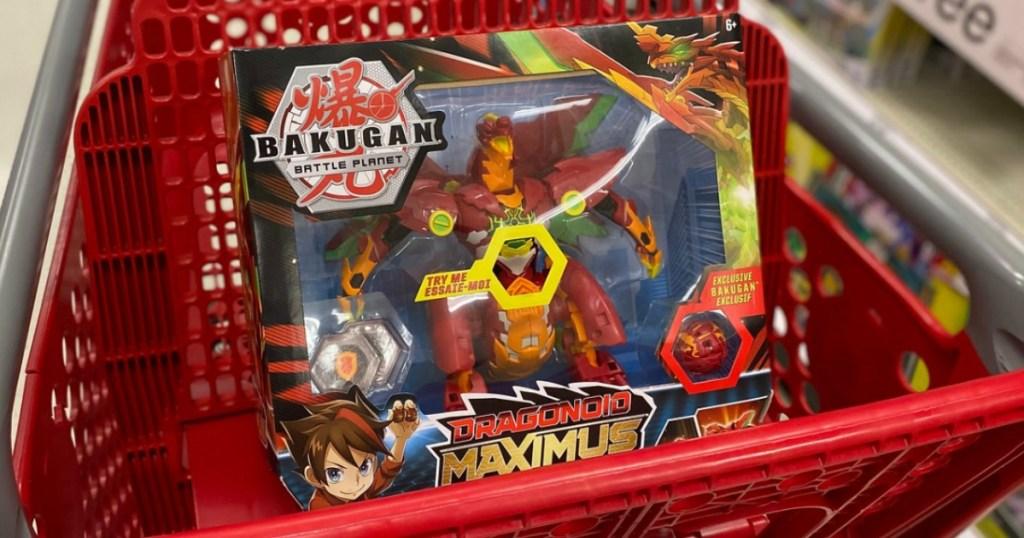 Bakugan Dragonoid Maximus in Target cart