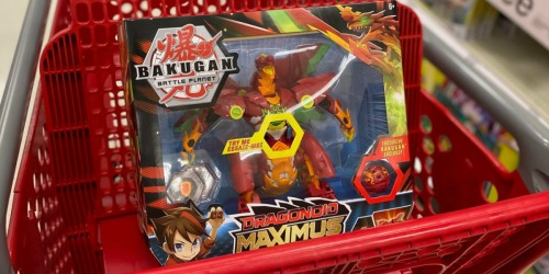 Up to 50% Off Bakugan Figures & Battle Cards at Target