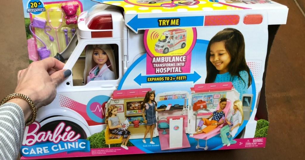 Barbie Care Clinic Set