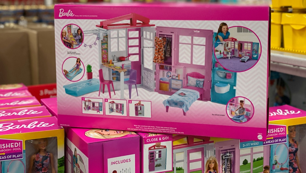 Barbie Doll, House, Furniture, and Accessories