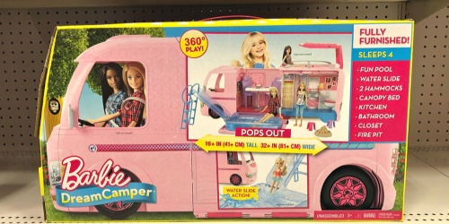 Barbie Dream Camper Just $49.99 Shipped (Regularly $110) | More Than 2′ of Play Space