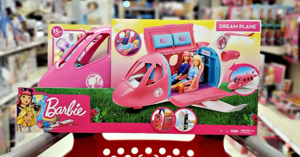 Barbie Dream Plane on Target Shopping Cart