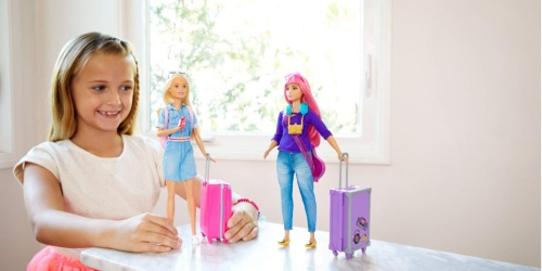 Barbie Doll Travel Set as Low as $13.49 Shipped (Regularly $18) | Includes Luggage & 10+ Accessories