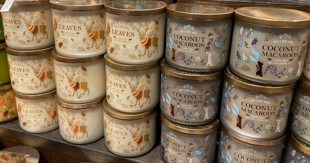 Bath & Body Works 3-Wick Candles as Low as $9.62 Each ...