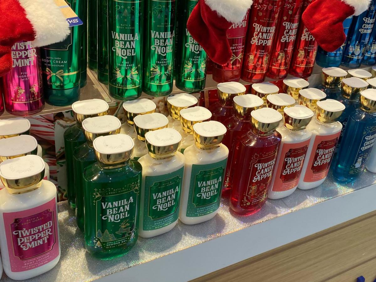 Body lotions in Bath & Body Works