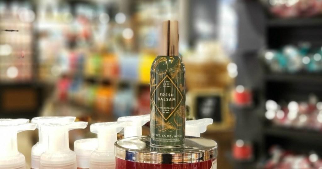 Bath & Body Works fresh balsamroom spray